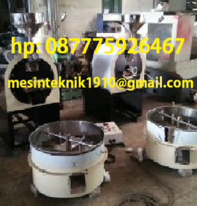 mesin roaster new 10 kg